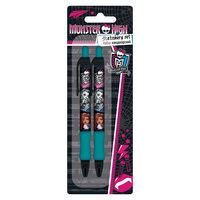 Набор: ручка синяя, карандаш механический, Monster High Академия групп