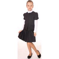 Костюм для девочки: жакет и юбка Смена
