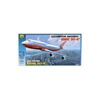"""Сборная модель """"Боинг 747-8"""", Звезда"""