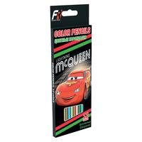 Цветные карандаши, 12 шт, Тачки Академия групп