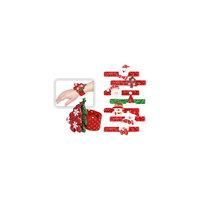 Слэп-браслет новогодний, 21х7 см, в ассортименте Tukzar