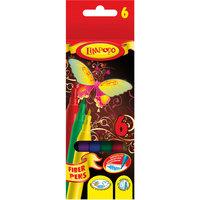 "Фломастеры ""Бабочка"" 6 цветов Limpopo"