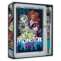 Набор канцелярский: ноутбук, ручка, Monster High Академия групп