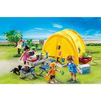 PLAYMOBIL  5435 Каникулы: Семья и палатка Playmobil®