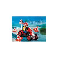 PLAYMOBIL 4759 Новые фигурки: Мальчик на гоночной машинке Playmobil®