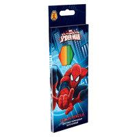 Цветные карандаши, 12 шт, Человек-Паук Академия групп