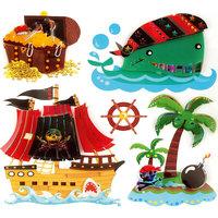 """Декоративные наклейки """"Пираты"""" Феникс Презент"""