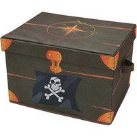 """Ящик для игрушек """"Сундук пирата"""" Рыжий кот"""