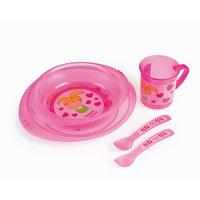 Набор посуды, Canpol Babies, розовый
