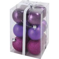 Фиолетовый набор шаров (6 шт) Волшебная Страна