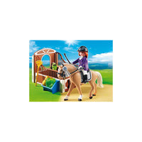 PLAYMOBIL 5520 Конный клуб: Лошадка для прогулок и загон Playmobil®