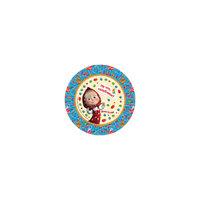 """Набор тарелок """"Машины сказки"""" (23 см, 6 шт) Росмэн"""