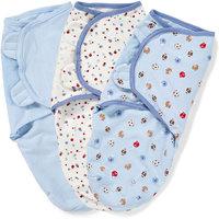 Конверт для пеленания на липучке, SWADDLEME®, р-р S/M, 3 шт., спорт Summer Infant
