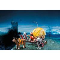 PLAYMOBIL 6005 Рыцари: Рыцари Сокола с камуфляжной повозкой Playmobil®