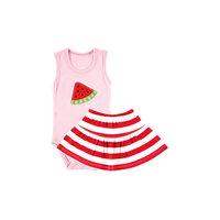 "Комплект для девочки: боди-майка и юбка ""Арбуз"" Hudson Baby"