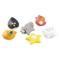 Набор игрушек для купания «Веселые друзья» 6 шт, Babymoov