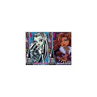 Картон цветной, 8 листов, 8 цветов, Monster High Академия групп