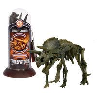 Раскопки: Трицератопс (Скелет динозавра с тремя рогами) -