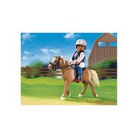 PLAYMOBIL 5109 Конный клуб: Лошадь Хафлингер со стойлом Playmobil®