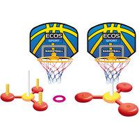 Набор для игры в баскетбол и кидания колец на воде, Ecos