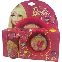 Фиолетовый набор посуды (3 предмета), Barbie -