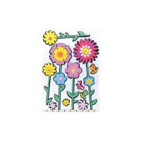 """Декоративные наклейки """"Цветы"""" Феникс Презент"""