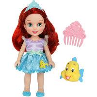 """Кукла  """"Малышка с питомцем: Ариэль"""", 15 см, Disney Princess"""