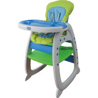 Стульчик-трансформер O-ZONE, Baby Care, зеленый