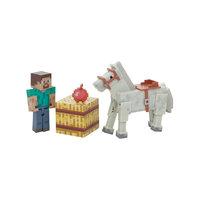 Фигурка 2 в 1 Стив, 8 см, Minecraft Jazwares