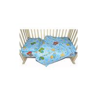 """Комплект постельного белья """"Звездопад"""", Baby Nice, голубой, 3 предмета"""