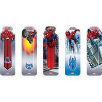 Набор закладок (5шт), Marvel Человек-Паук Limpopo