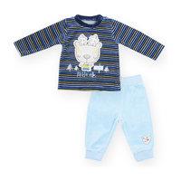 Комплект для мальчика: футболка с длинным рукавом и брюки BLUE SEVEN