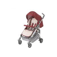 Прогулочная коляска Nicole, Happy Baby, бордовый