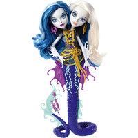 """Пери и Перл из серии """"Большой Кошмарный Риф"""", Monster High Mattel"""