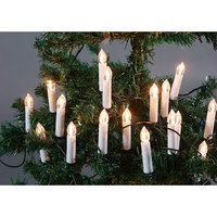 Свечи елочные, 10 ламп (тепл бел свет), для помещений Волшебная Страна