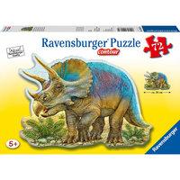 """Контурный пазл """"Динозавры"""" Ravensburger, 72 детали"""