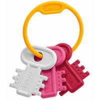 """Погремушка """"Ключи на кольце"""", розовая, Chicco"""