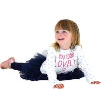 Комплект: джемпер, юбка и леггинсы для девочки Minoti