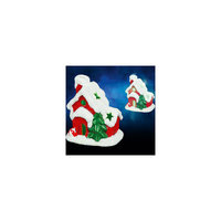 "Керамический сувенир ""Домик"" с подсветкой, 9х7х10 см Tukzar"
