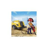 PLAYMOBIL 5472 Стройка: Строитель с отбойным молотком Playmobil®