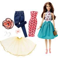 """Кукла """"Сочетай и наряжай"""" брюнетка, Barbie Mattel"""