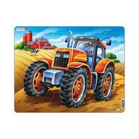"Пазл ""Трактор"", 37 деталей, Larsen"