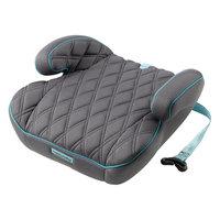 Автокресло-бустер Booster Rider, 15-36 кг., Happy Baby, серый
