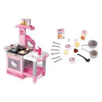 Hello Kitty Кухня, 60х31х58 см с аксессуарами. Smoby