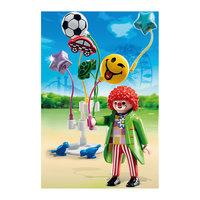 """PLAYMOBIL 5546 Парк Развлечений: Продавец шаров """"Smileyworld"""" Playmobil®"""