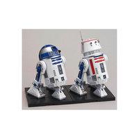 """Сборная модель """"R2-D2 и R5-D4 1/12"""", Звездные Войны Bandai"""