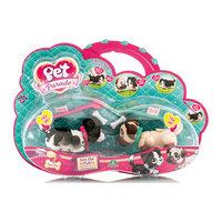 Фигурки собачек в комплекте с косточками и поводком, Pet Parade, в ассортименте Giochi Preziosi