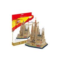 """Пазл 3D """"Храм Святого Семейства (Испания)"""", CubicFun"""