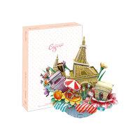 """Пазл 3D """"Городской пейжаз - Париж"""", CubicFun"""