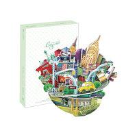 """Пазл 3D """"Городской пейзаж - Нью-Йорк"""", CubicFun"""